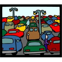 parking lot clipart
